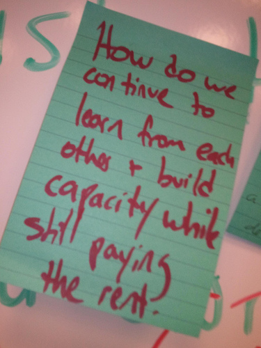 Sticky Note from TechSoup Global Summit